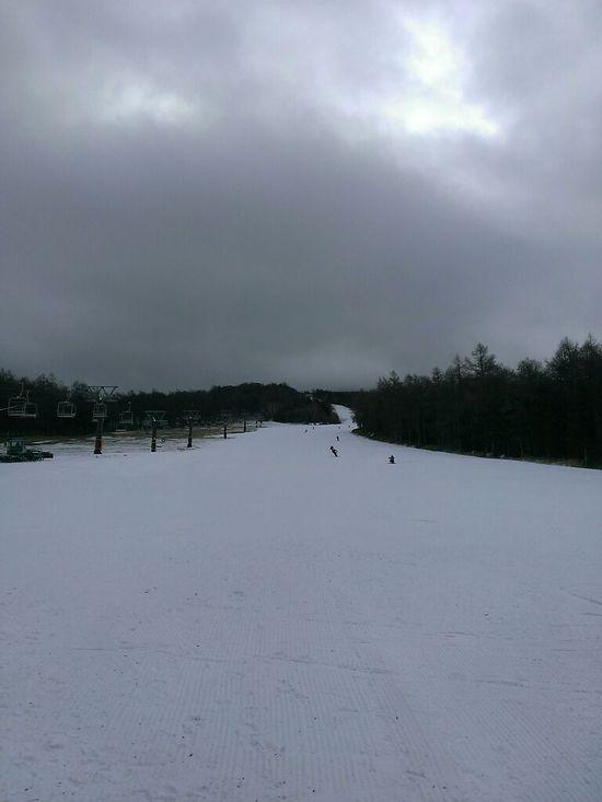 まずまずの雪 湯の丸スキー場のクチコミ画像2