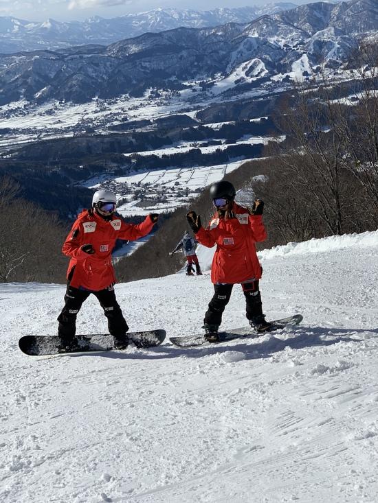 広い!綺麗!雪質ヨシ! 野沢温泉スキー場のクチコミ画像