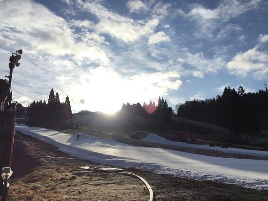 初すべり|鷲ヶ岳スキー場のクチコミ画像