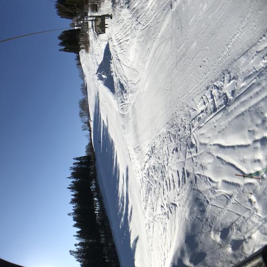 雪不足といわれる中でも大丈夫|福井和泉スキー場のクチコミ画像1
