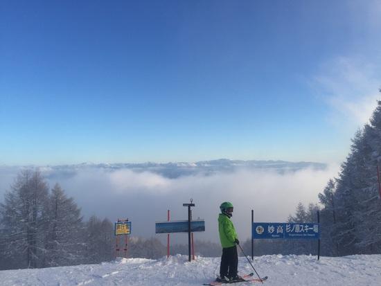 雲が晴れて!|妙高杉ノ原スキー場のクチコミ画像