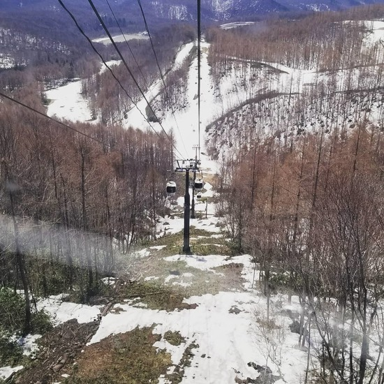 雪が無い!!!!|グランデコスノーリゾートのクチコミ画像