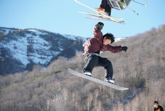 元気良すぎ?|かぐらスキー場のクチコミ画像2