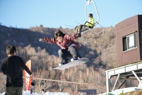 元気良すぎ?|かぐらスキー場のクチコミ画像3