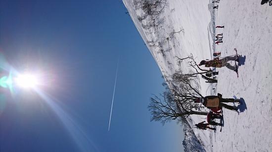 昼間は暑かったです 苗場スキー場のクチコミ画像