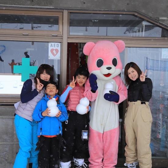 雪だるま人形|志賀高原 熊の湯スキー場のクチコミ画像