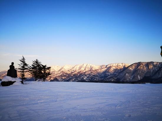 ふわふわスノーパウダーが最高!!!|栂池高原スキー場のクチコミ画像