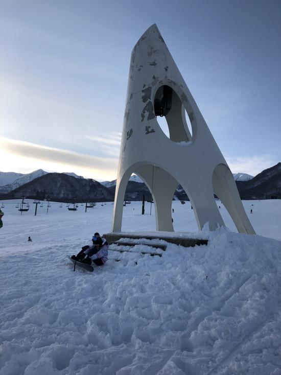 ふわふわスノーパウダーが最高!!! 栂池高原スキー場のクチコミ画像2