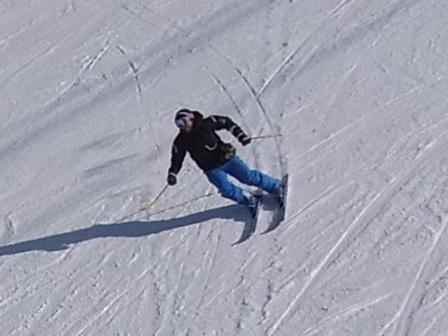 やや固めの雪質|信州松本 野麦峠スキー場のクチコミ画像
