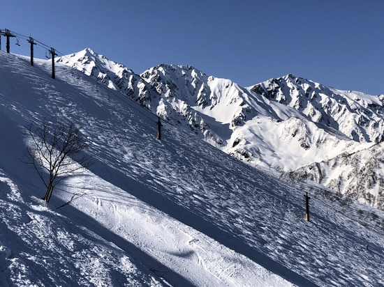 絶景の白馬三山!|白馬八方尾根スキー場のクチコミ画像