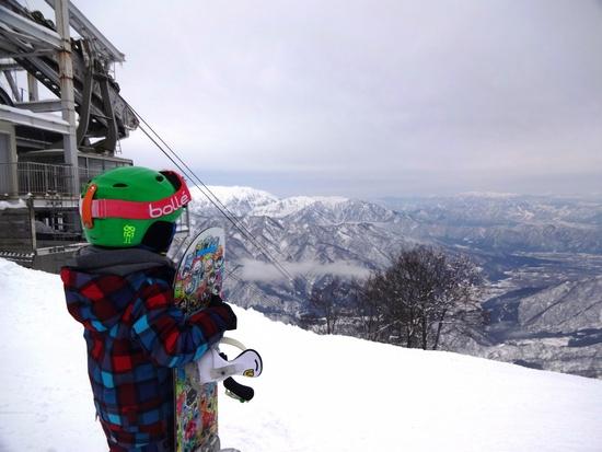 子供も見惚れる絶景|六日町八海山スキー場のクチコミ画像1