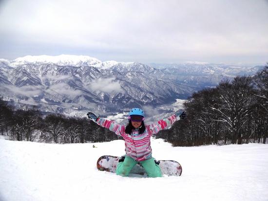 子供も見惚れる絶景|六日町八海山スキー場のクチコミ画像2