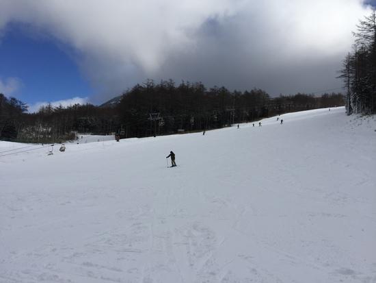 幅がそこそこそこ広め|湯の丸スキー場のクチコミ画像