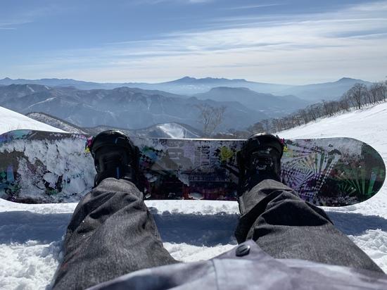 スノボー|谷川岳天神平スキー場のクチコミ画像