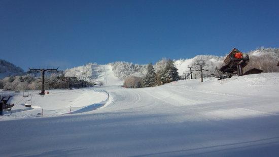 見た目はハイシーズン?!|志賀高原 熊の湯スキー場のクチコミ画像1