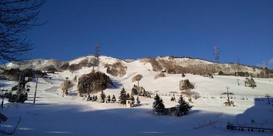 スキー場らしくなった 苗場スキー場のクチコミ画像