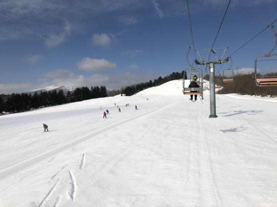 暖冬でも雪不足無し|十和田湖温泉スキー場のクチコミ画像