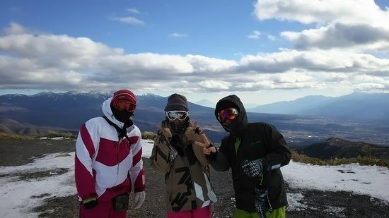 雪不足|車山高原SKYPARKスキー場のクチコミ画像