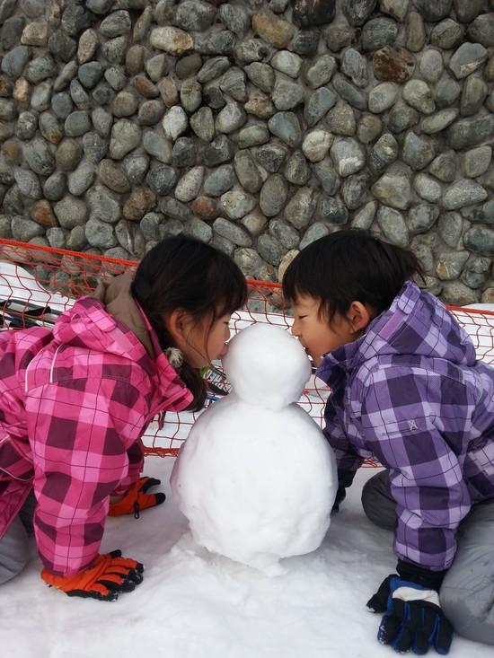 雪だるまつく~ろ~|NASPAスキーガーデンのクチコミ画像1