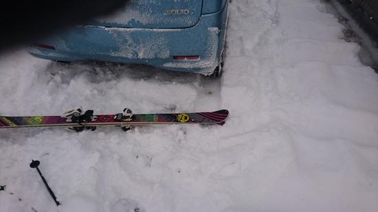 まさかの新雪|会津高原だいくらスキー場のクチコミ画像3