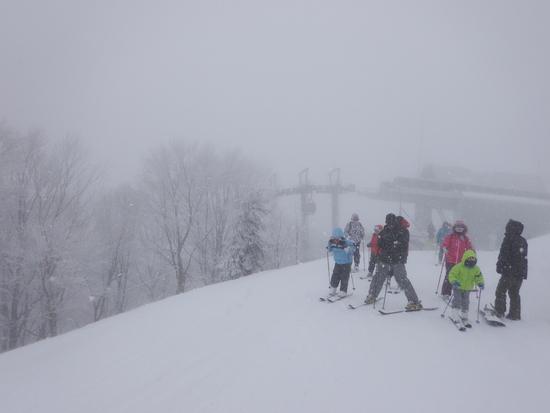 新雪三昧・・・|斑尾高原スキー場のクチコミ画像
