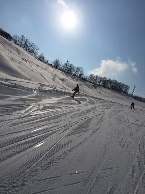 隠れ名コース「沢コース」|白馬岩岳スノーフィールドのクチコミ画像