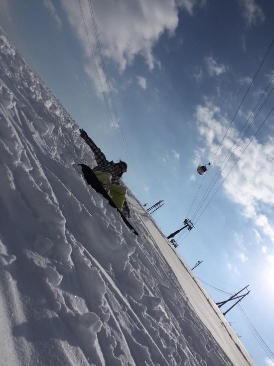 隠れ名コース「沢コース」|白馬岩岳スノーフィールドのクチコミ画像2