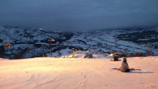 元旦ナイター(石打丸山)|石打丸山スキー場のクチコミ画像