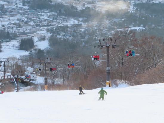 今年は雪少な目です。|白馬八方尾根スキー場のクチコミ画像