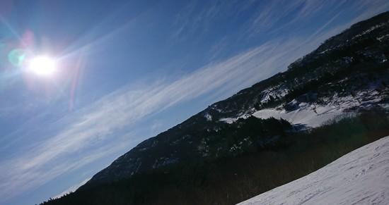 当間ゲレンデは良好でした。 上越国際スキー場のクチコミ画像