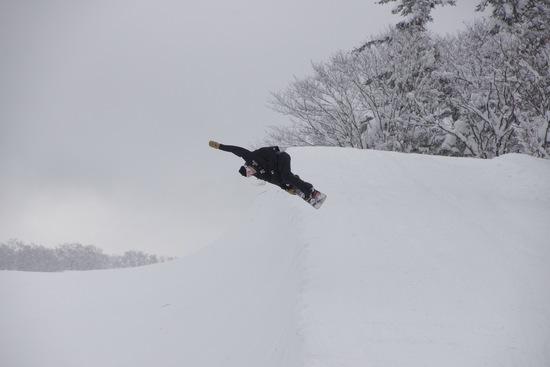 年内ハーフパイプオープン!|会津高原南郷スキー場のクチコミ画像