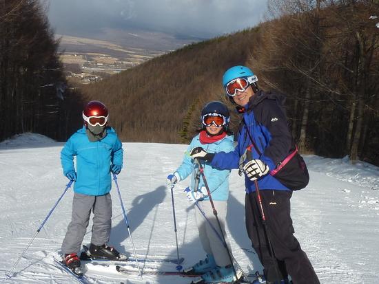 今年も初滑りはシャトレーゼ|シャトレーゼスキーリゾート八ケ岳のクチコミ画像