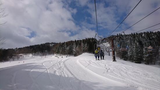 前夜の大雪のおかげ|ちくさ高原スキー場のクチコミ画像2