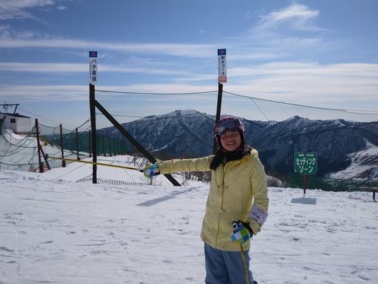 山頂からの|ハチ・ハチ北スキー場のクチコミ画像1