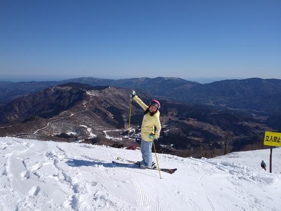 山頂からの|ハチ・ハチ北スキー場のクチコミ画像2
