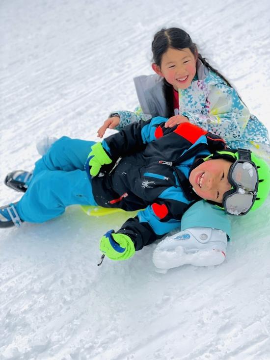 フカフカの白い世界|おじろスキー場のクチコミ画像