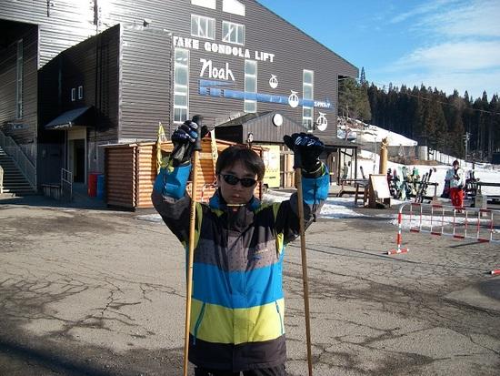 こどもの日でも春スキーは空いている。|白馬岩岳スノーフィールドのクチコミ画像