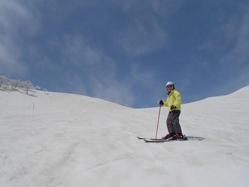 バックカントリーっぽいところがいいですね|谷川岳天神平スキー場のクチコミ画像