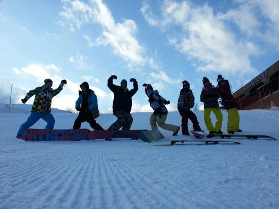 終了間際|箕輪スキー場のクチコミ画像2