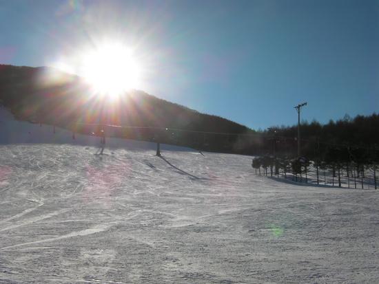 最寄りICから距離があるせいか穴場のゲレンデです エコーバレースキー場のクチコミ画像