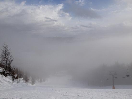 雨も降っていたけど|白馬さのさかスキー場のクチコミ画像1
