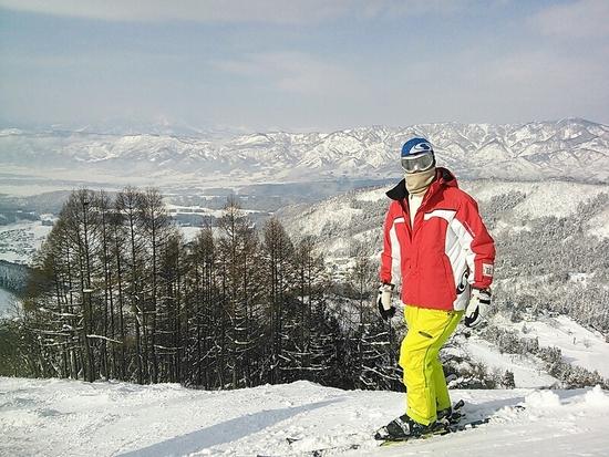 初の野沢温泉スキー場最高(^_^)ノ 野沢温泉スキー場のクチコミ画像