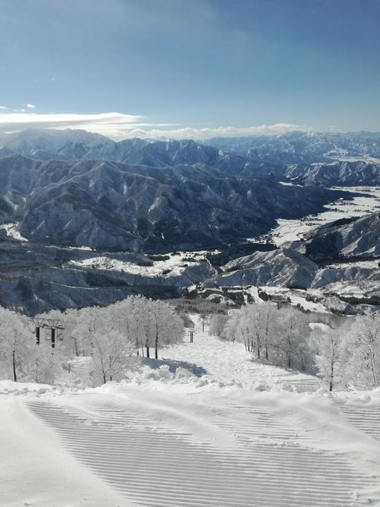 雪が降った朝は行くべきゲレンデ|六日町八海山スキー場のクチコミ画像2