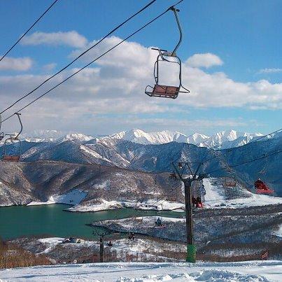 景色が爽快です。|かぐらスキー場のクチコミ画像