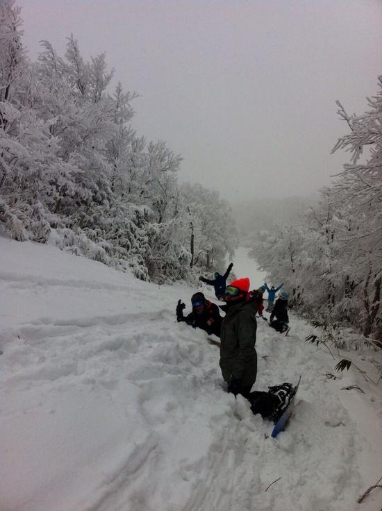 パウダー最高|箕輪スキー場のクチコミ画像