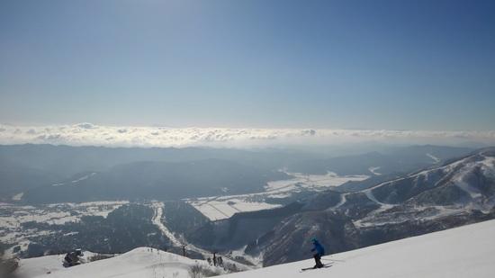 青空が最高 白馬八方尾根スキー場のクチコミ画像2