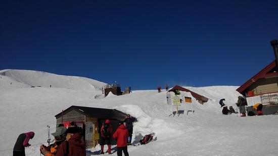 青空が最高 白馬八方尾根スキー場のクチコミ画像3