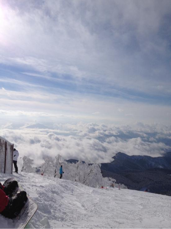 ジャム勝初滑り|スキージャム勝山のクチコミ画像