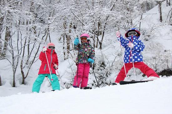 ワクワクするね!|阿仁スキー場のクチコミ画像