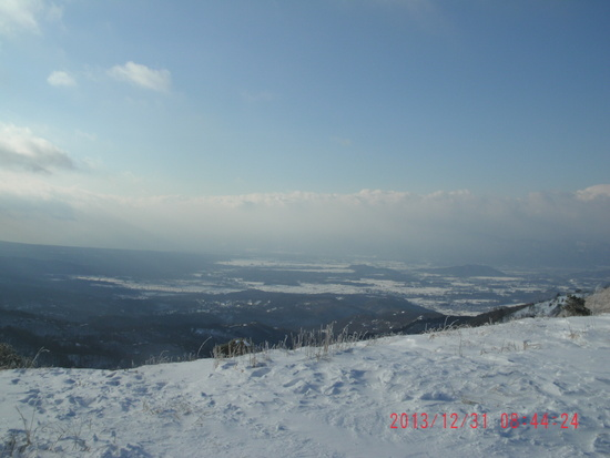 山頂からの急斜面が最高|しらかば2in1スキー場のクチコミ画像3